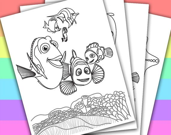 1000 ideas about finding nemo coloring pages on pinterest colouring pages coloring pages and
