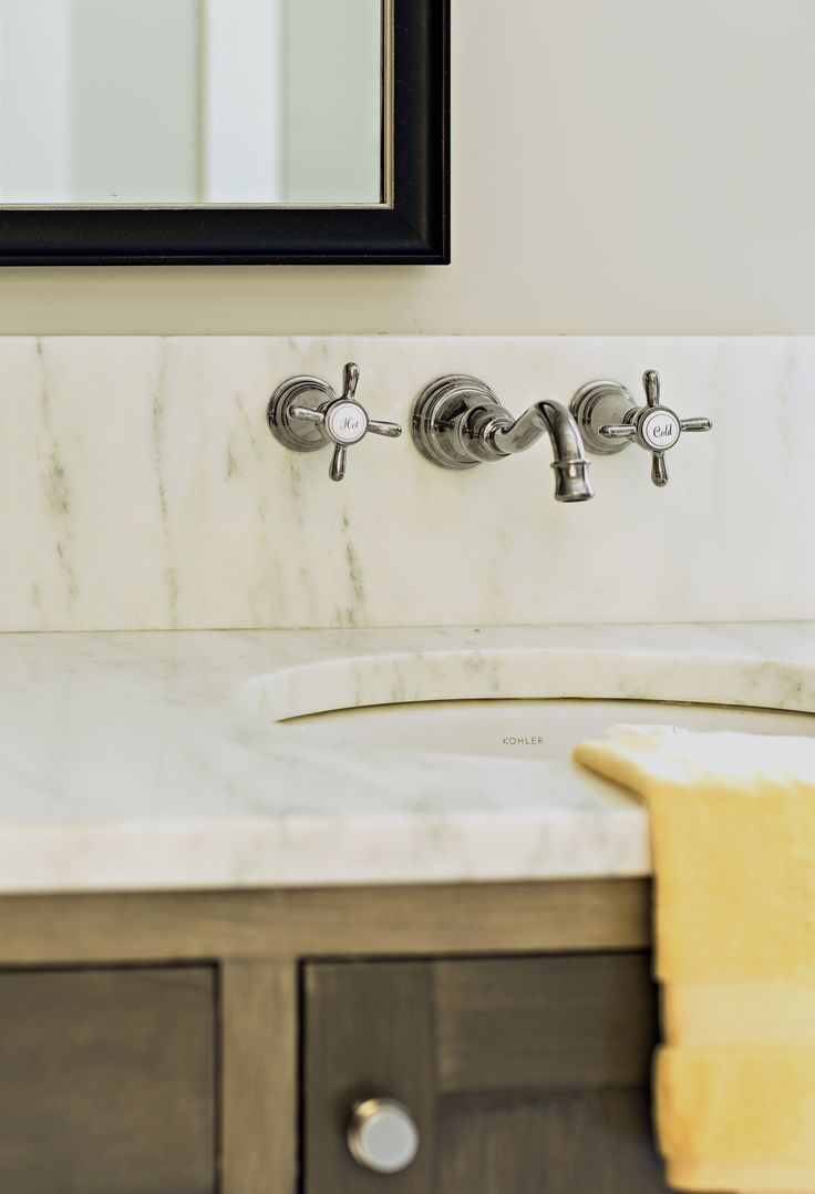 Easy-Clean Faucet Feature