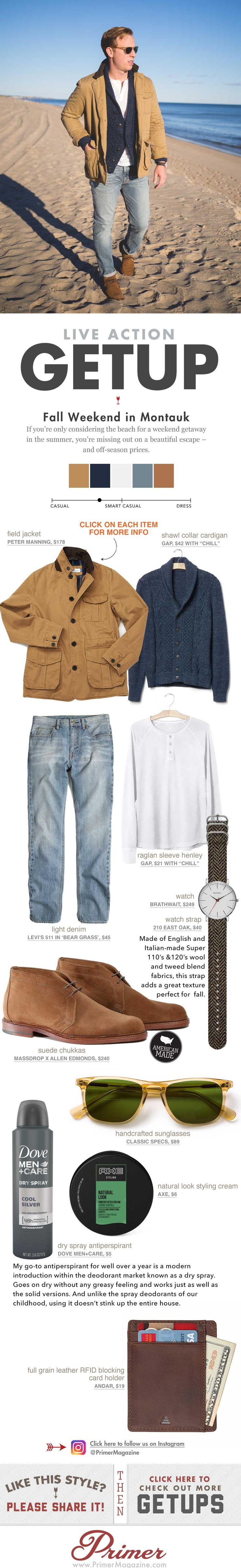Men's Getup fall style inspiration from Primer Magazine