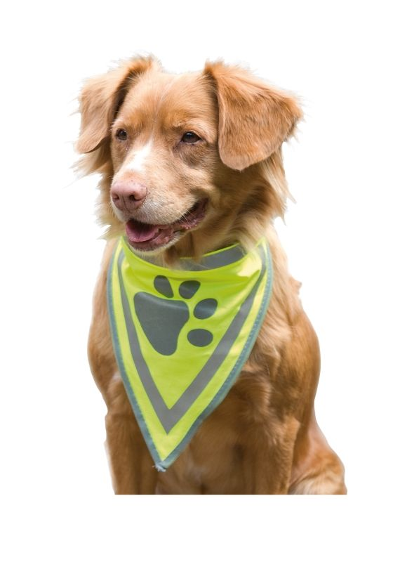 Reflex halstørkle til hund