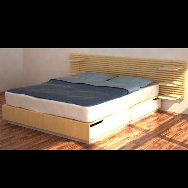 Ikea mandal storage bed review for Mandal bett ikea