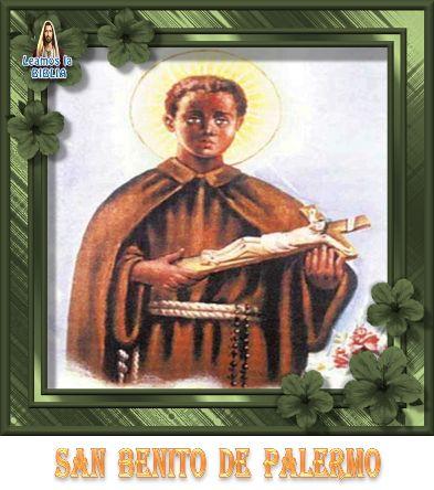 Leamos la BIBLIA: San Benito de Palermo