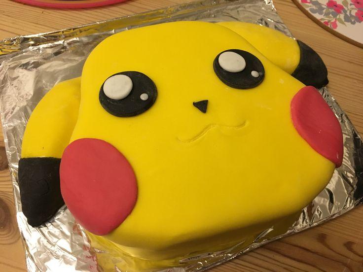 Pikachu 9th birthday cake