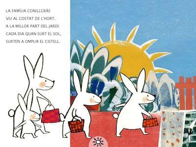 Petit conill perdut troba família. App's per a nens. #sortirambnens