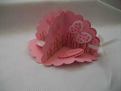 Stamping Moments: 3D Carousel Note Card....Tutorial