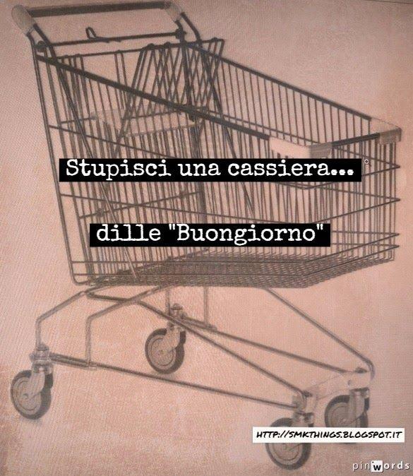 Supermarket's things: A volte basta poco...