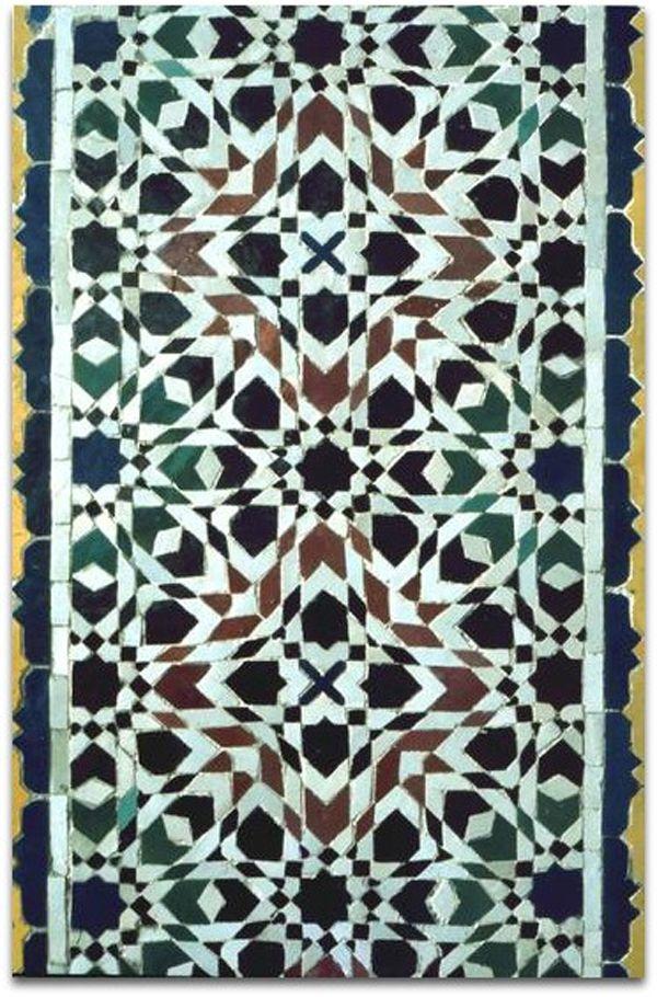 ACASA objeto & decoração: A arte dos mosaicos Islâmicos - Marrocos