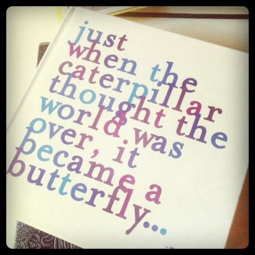 ♥beutiful words of hope.