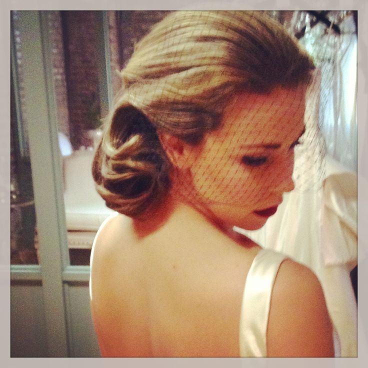 Vintage Bridal Hair Clic Wedding And Makeup Ash Co Charleston Sc
