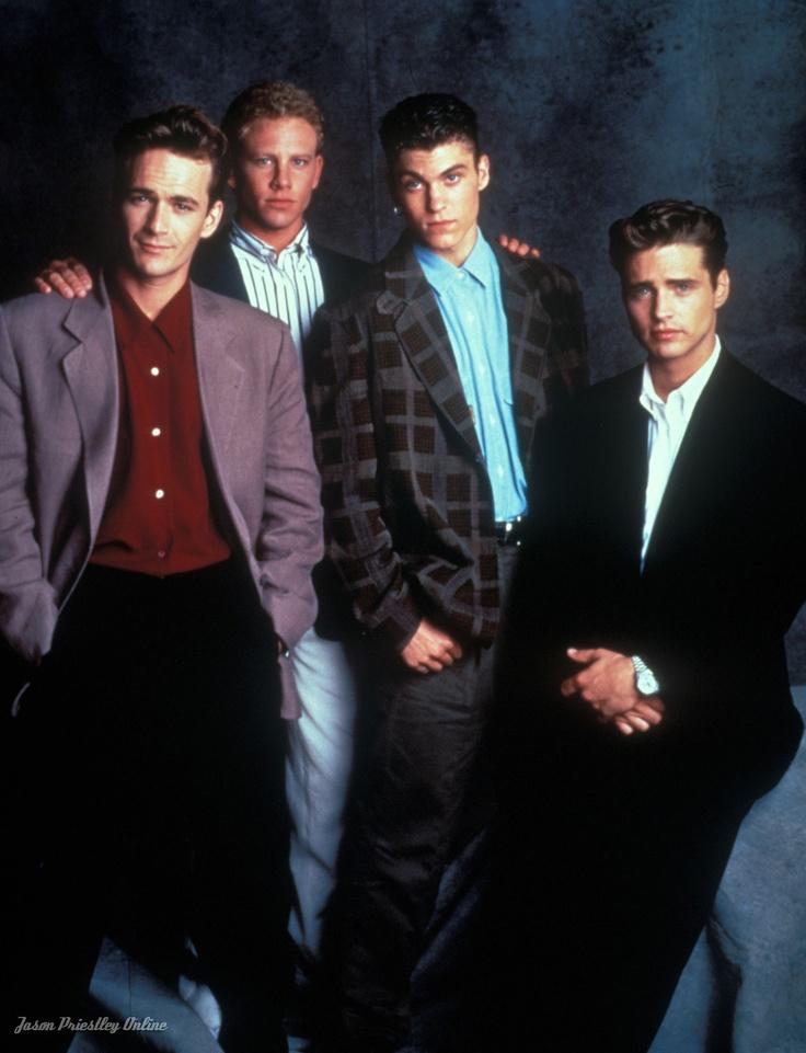 Beverly Hills 90210- Dylan, Steve, David Silver, and Brandon