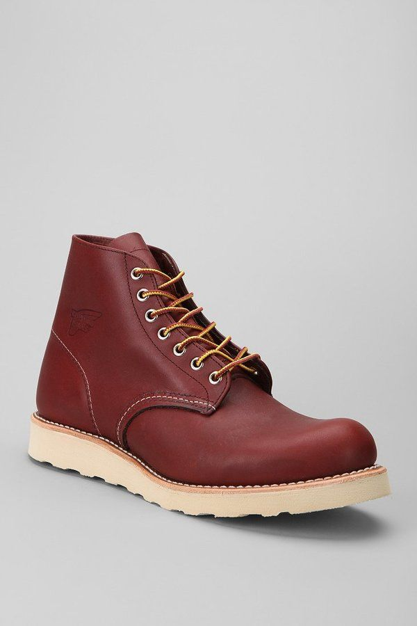 """Red Wing 6"""" Round Toe Boot"""