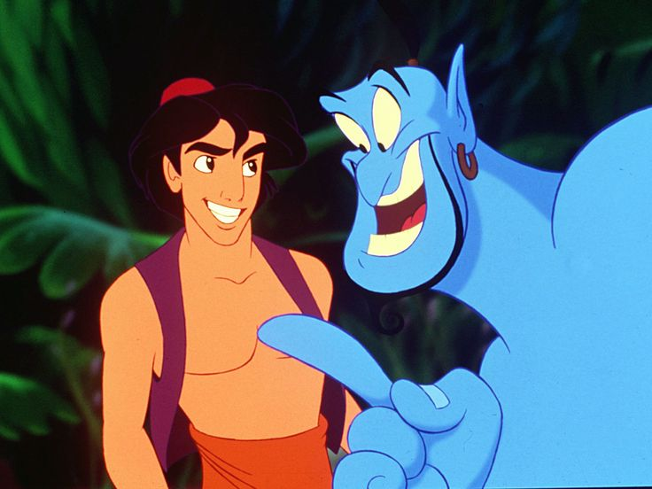 "Williams voiced Genie in 1992's ""Aladdin."""