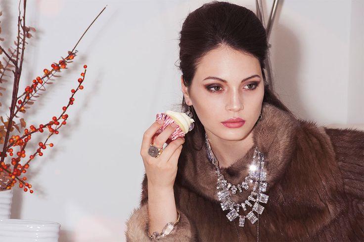 Indulgent Valentine: Lingerie, Ice & Decadence
