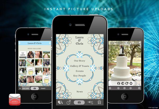 Personal wedding iphone app
