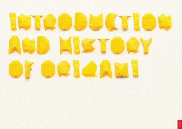 Origami E-book by David HK Tan, via Behance