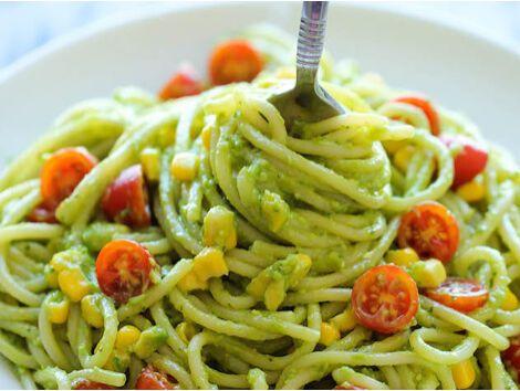 Avokádókrémes spagetti - MINDENMENTES
