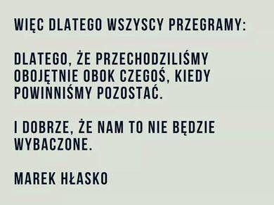 Marek Hłasko. Cytat.