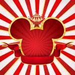 Convite para Festa Mickey Circo