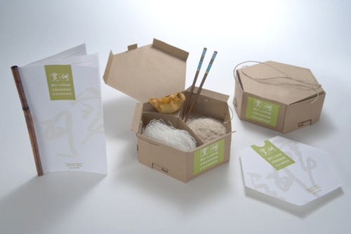 I should think of Chinese & Japanese packaging as well. It's a kind of food culture really flexible in sizes and carrying and the solutions with take-away boxes could be  thousands. very smart idea. by JoAnn Arello