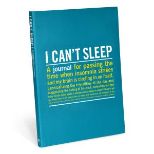 Knock Knock I Can't Sleep Guided Journal || When the clock strikes midnight—or 3:00 AM—and you're still tossing and turning, a generic personal diary just won't do. Fortunately, the I Can't Sleep Inner-Truth Journal is filled with provocative prompts and candid quotations that make sleepless nights fun—or at least bearable.Featuring over 70 thought-provoking quotes from fellow night owls The perfect gift for all the restless people in your life (or yourself)