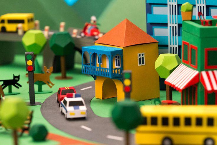 Bank constanta minuscule paper town