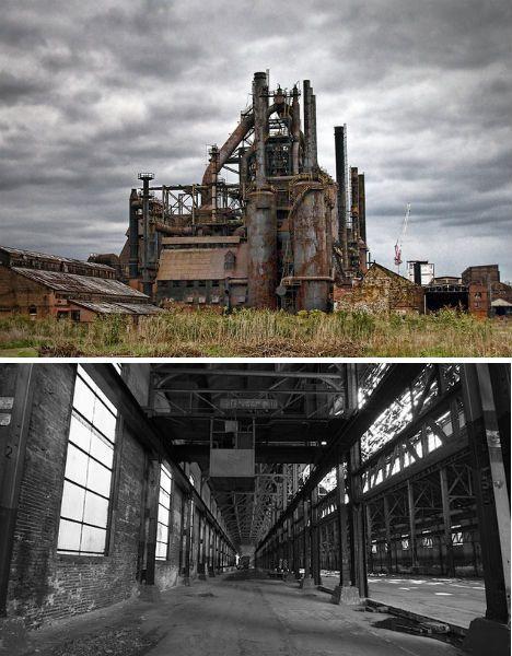 Abandoned Places Bethlehem Steel Factory 1