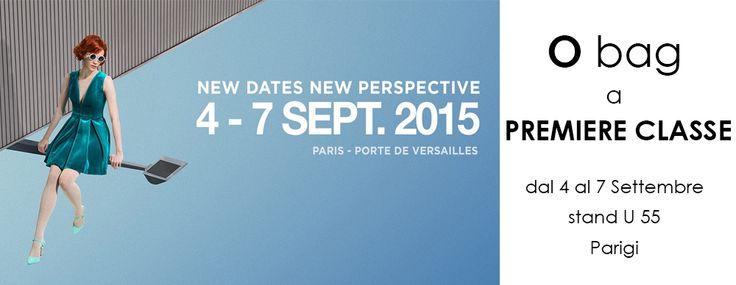 """Siamo pronti per iniziare!! Ti aspettiamo alla fiera """"PREMIERE CLASSE"""" fino al 7 settembre con tante novità e anticipazioni della collezione #Obag Spring 2016! #ss16 — in Paris, France."""