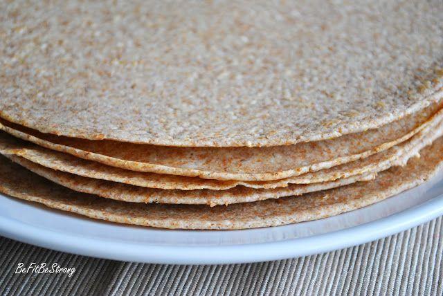 Just Be Fit Be Strong!: Jak zrobić domową, zdrową tortillę?