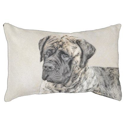 #English Mastiff (Brindle) Pet Bed - #dogbeds #dogbed #puppy #dog #dogs #pet #pets #cute #doggie