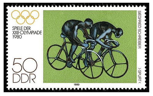 Easy German Stamp DDR