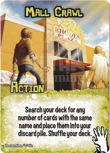 Mall Crawl - Zombies - Smash Up Card   Altar of Gaming
