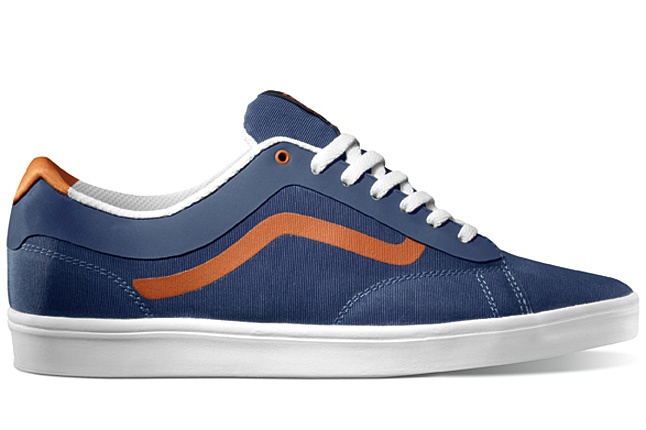 VANS LXVI ORTHORunning Shoes, Vans Addict, Lxvi 2012, Footwear, Vans Lxvi Ortho Blue Orange, Men Fashion, Man Shoes, 2012 Ortho, Man Men