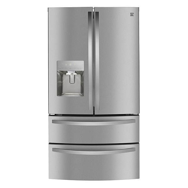Kenmore 72595 27 8 Cu Ft Smart 4 Door Fingerprint Resistant Refrigerator Stainless Steel In 2020 Refrigerator Problems Refrigerator Repair Refrigerator