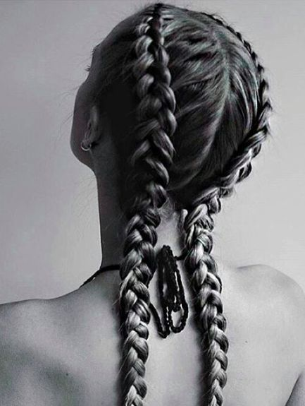Remarkable 1000 Ideas About Two French Braids On Pinterest French Braids Short Hairstyles Gunalazisus