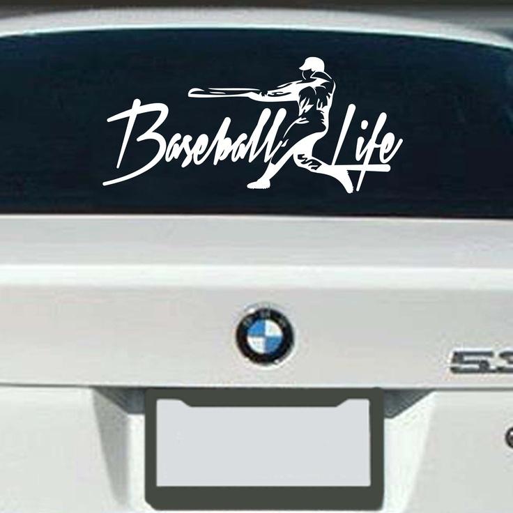 Baseball life decal lifelineseries com