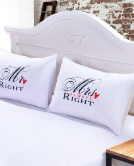 mr&mrs Pillowcase
