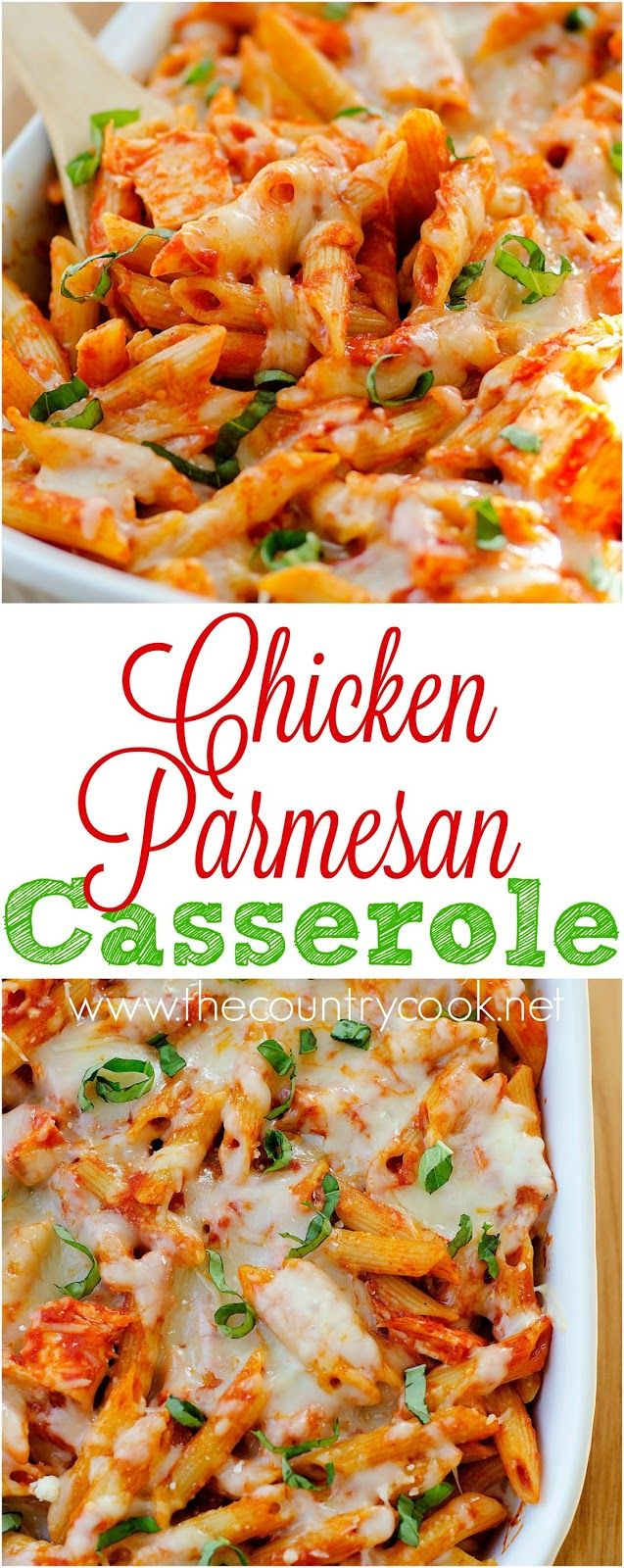 The Country Cook  Chicken Parmesan Casserole