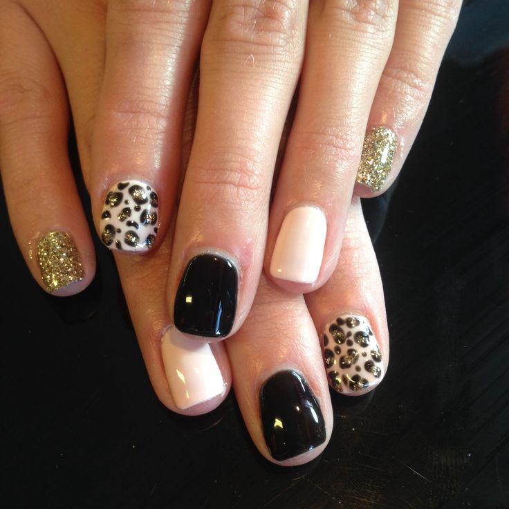Nails nailart design shellac gel gelish