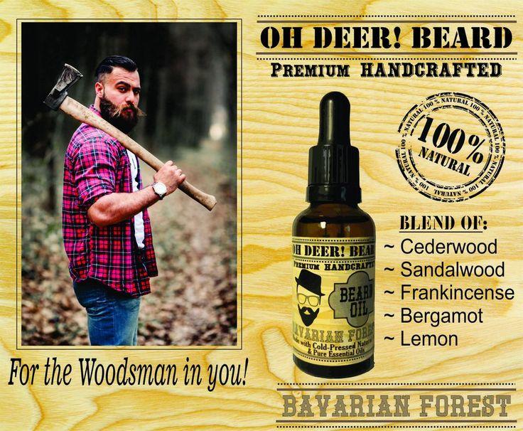 Beard Oil - Bavarian Forest 30ml/1 fl. oz.