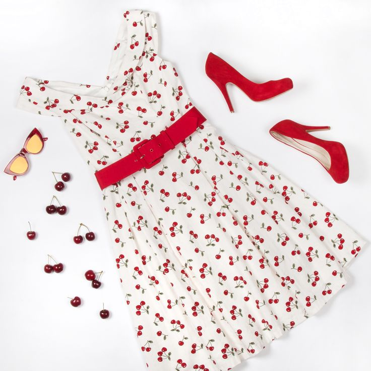 Cherry On Top Dress | Flatlay | Review Australia