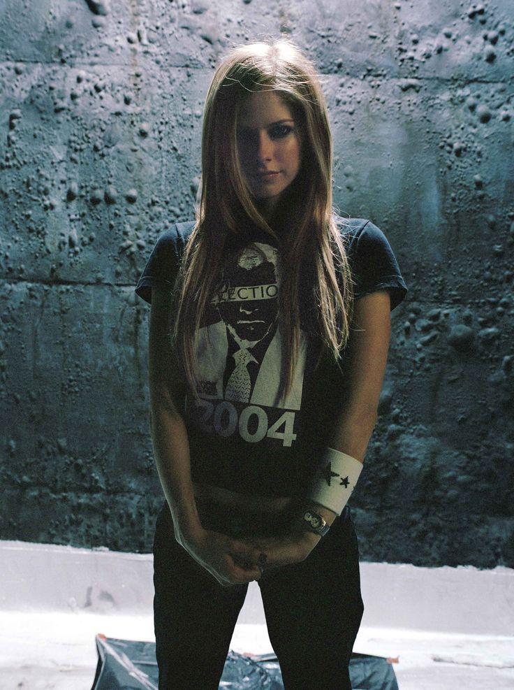 Аврил Лавин (Avril Lavigne) в фотосессии Криса Флойда