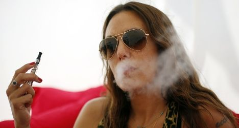 """e~cigs risks : Most worrying for France's one million users of the devices was the new report's claims that, thanks to a new method of testing, they had found """"carcinogenic molecules in a significant amount"""" in the vapour produced in the products."""