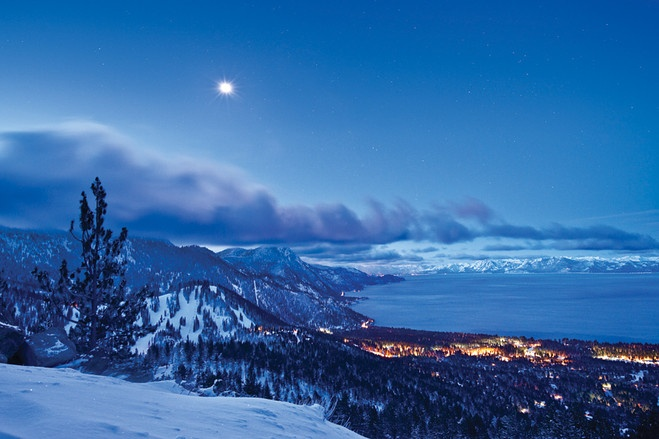Incline Village at Lake Tahoe. Winter at its best