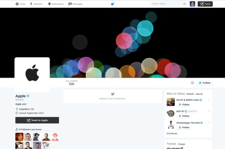 Apple's Twitter account comes to life ahead of iPhone announcement | The Verge