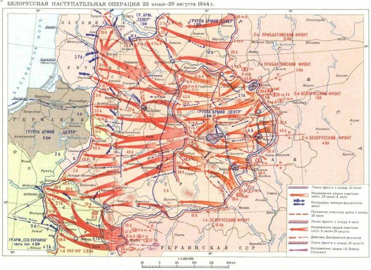Operation Bagration, almost unknown in the west compared to DDay.
