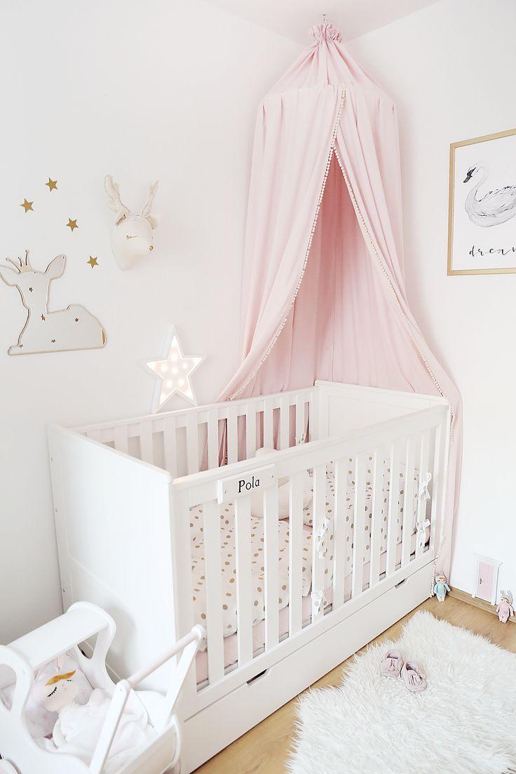 Moja aranżacja łóżeczka w pokoiku Poli – Zatrzymując czas – subtelnie o macierzyństwie