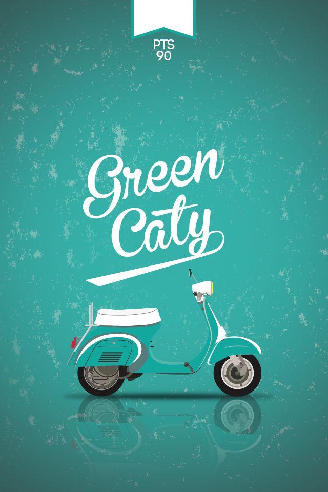 Greencaty PTS90 #vespa