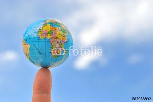 Il mondo su un dito