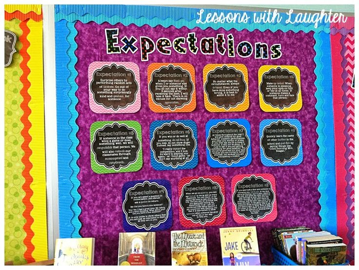 Lessons with Laughter: Ron Clark Expectations Posters! @hlpatterson