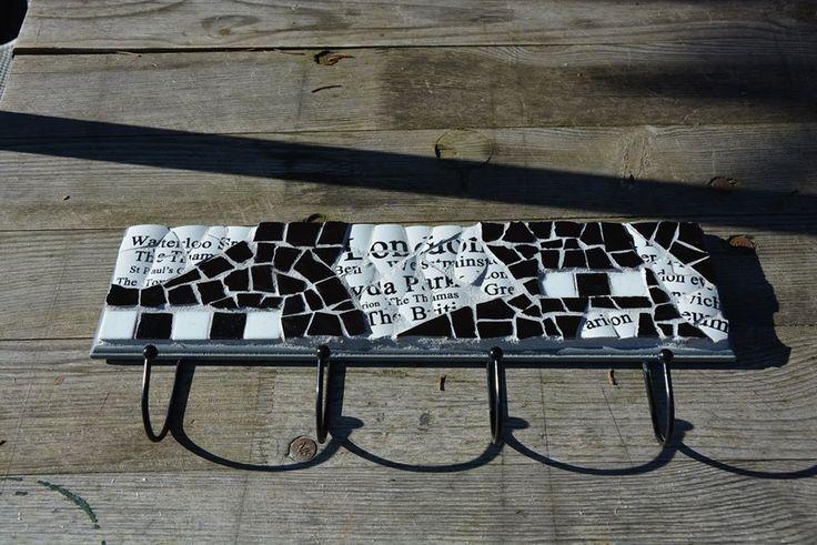 Mosaik wandhaken industrial style - Wandhaken kupfer ...